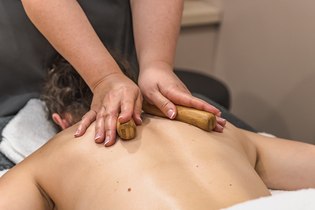 Bamboo Massage at The Green, East Dorset Golf Club.